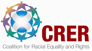 The logo for the Coalition for Racial Equality and Rights - CRER